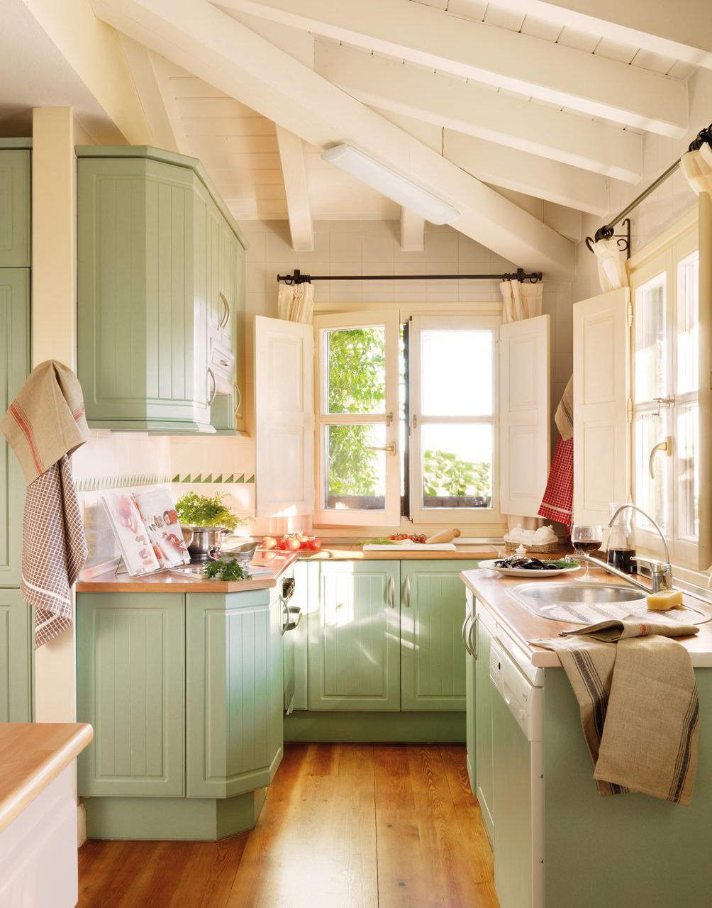 Combinando Cores na Decoração: Cozinha Verde