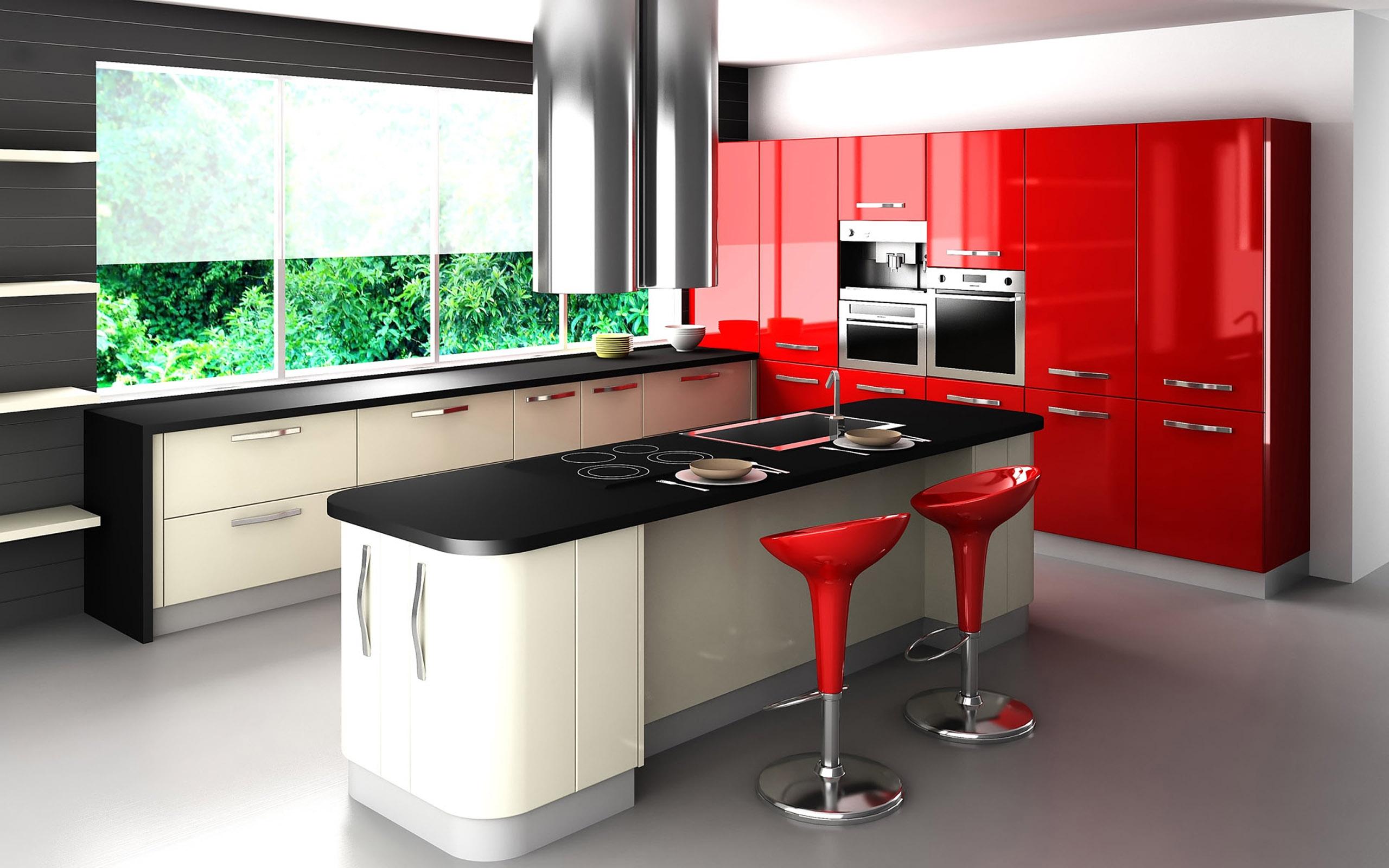 Combinando Cores na Decoração: Cozinha Vermelha