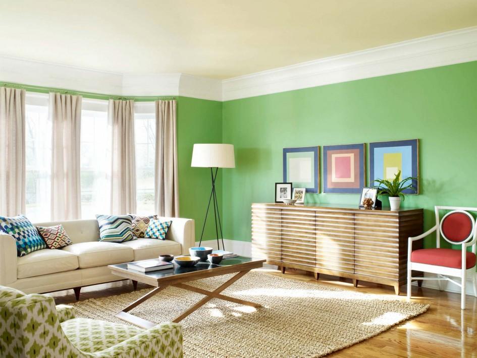 Combinando Cores na Decoração: Sala Verde