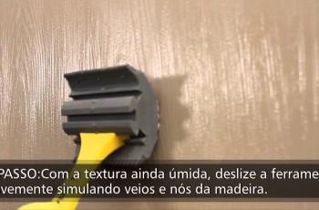 Efeito de Madeira com Tinta
