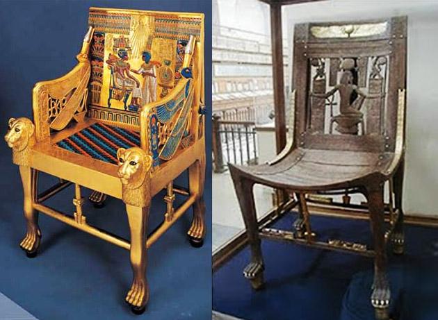 Cadeira Egípicia