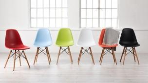 Cadeiras Eames Coloridas