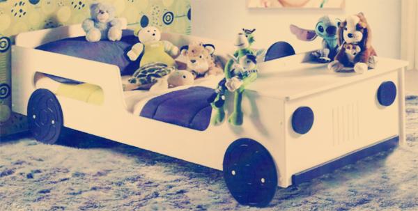 Cama Jeep para Meninos