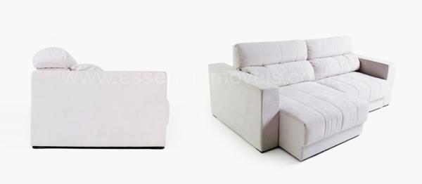 Decoração Apartamento Pequeno: Sofá Caibro com Chaise