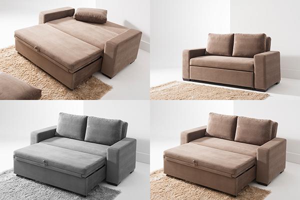 Decoração Apartamento Pequeno: Sofá reclinável para espaços reduzidos