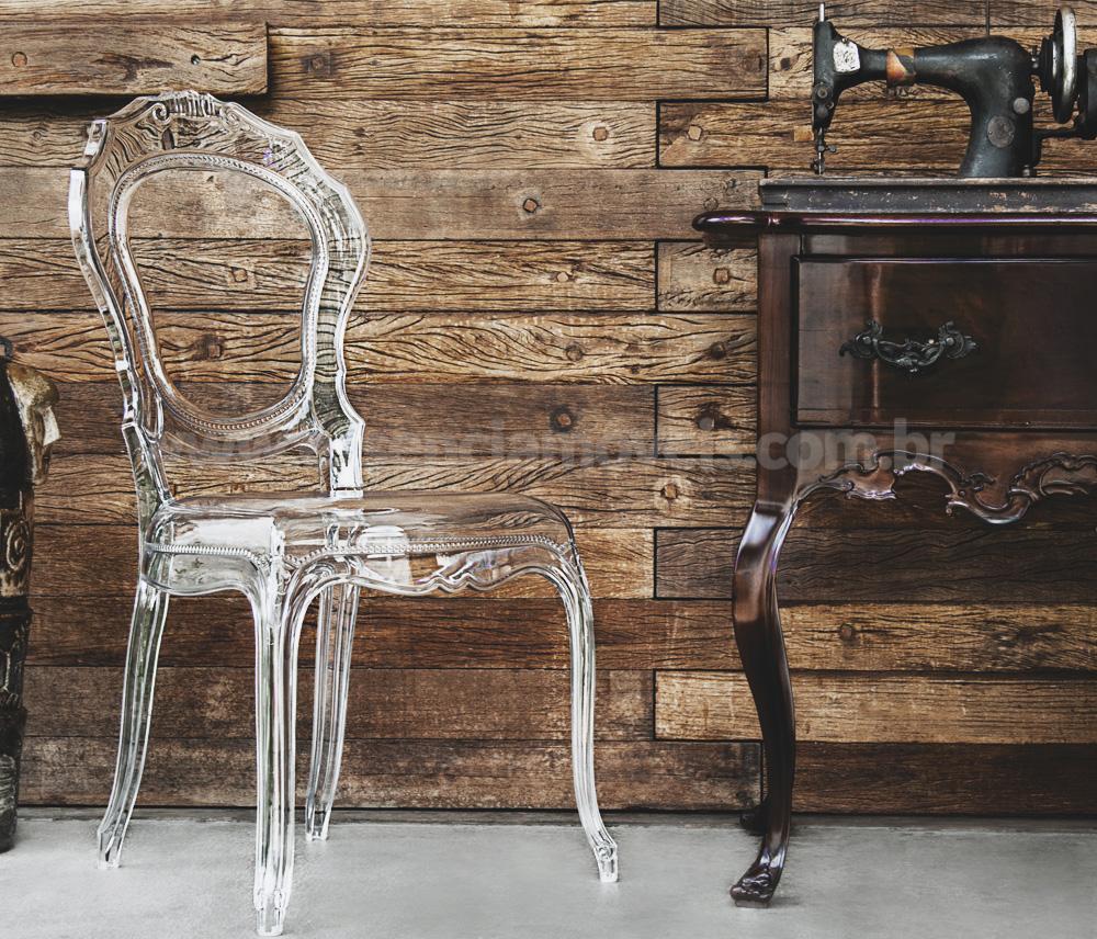 Cadeira Belle Transparente Ambiente