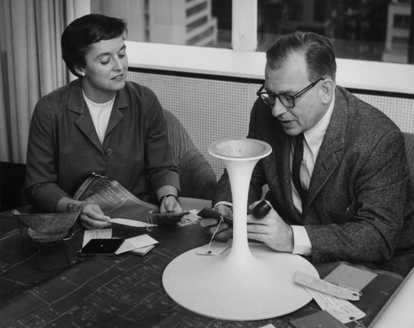 Eero Saarinen e Florence Knoll