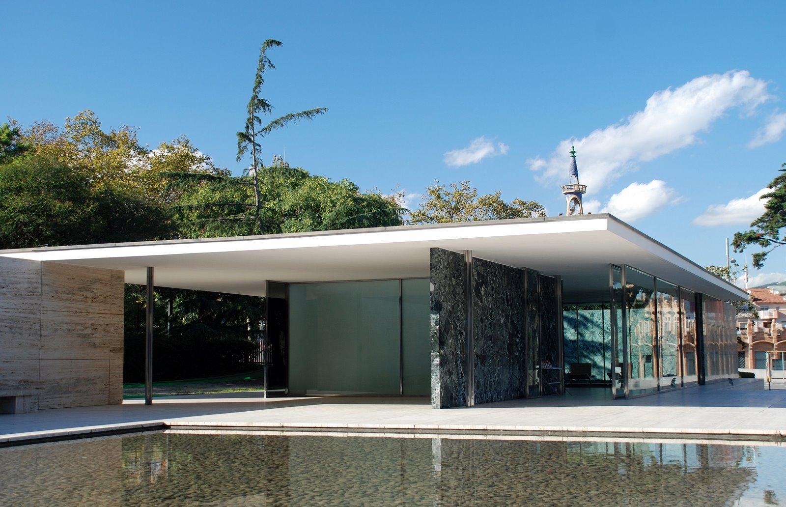 Barcelona Pavilion, Ludwig Mies van der Rohe, 1929