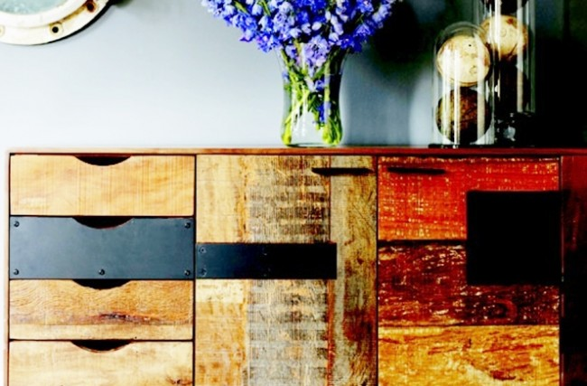 Dicas para decorar com madeira de demolição
