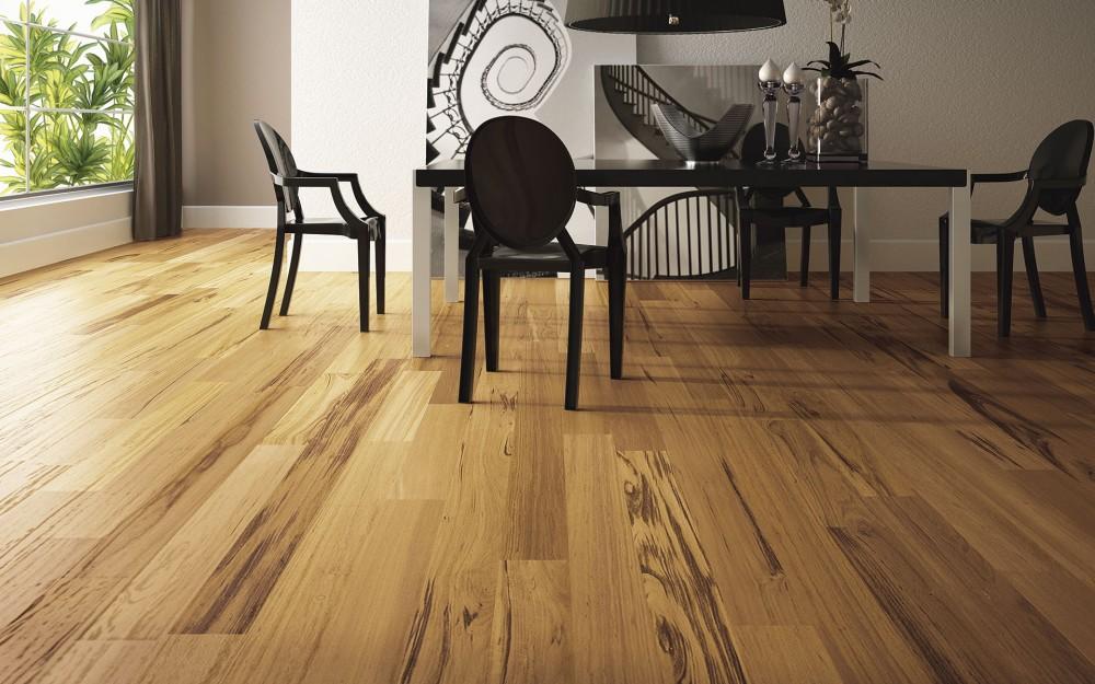 madeira em ambientes internos - Decoração em Madeira