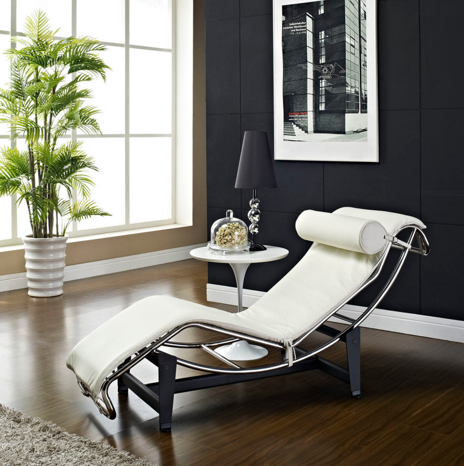 Chaise LC4 para leitura