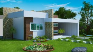 Plantas de casas modernas