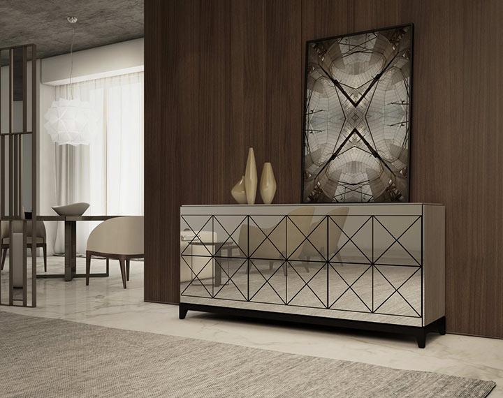 Quais os materiais mais comuns em salas minimalistas