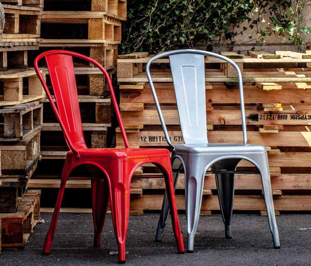 Cadeira Francesinha ou Cadeira Tolix