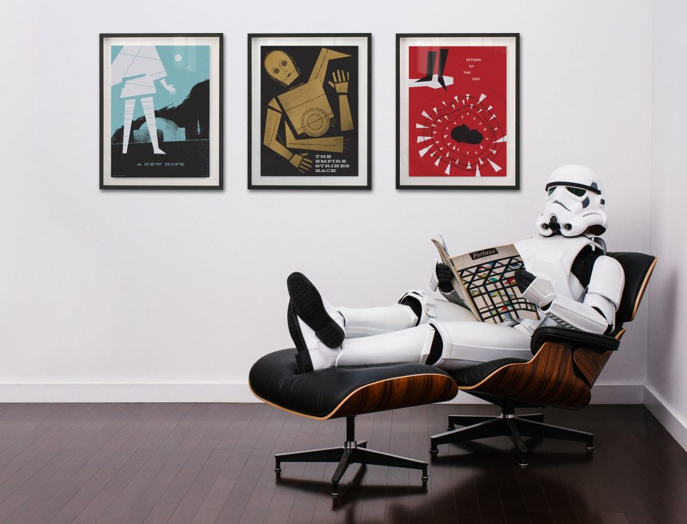Poltrona Charles Eames Stormtrooper