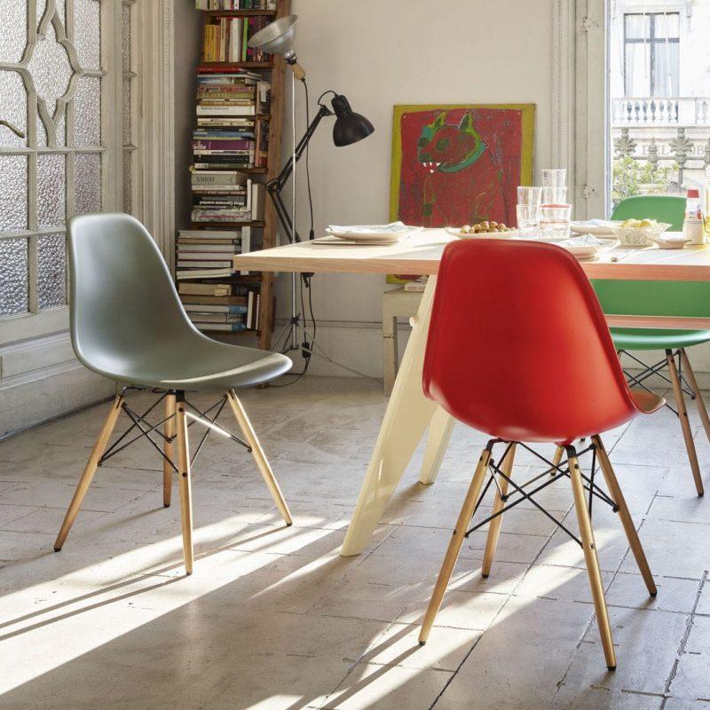 Cadeiras Eames DSW