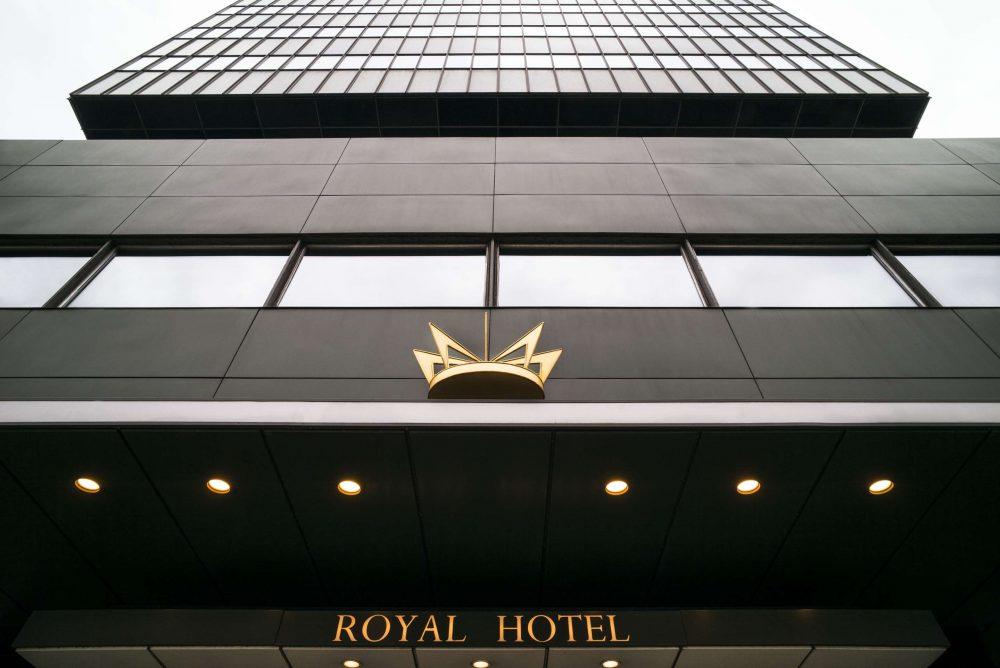 Fachada do Radisson Collection Hotel, Royal Copenhagen.