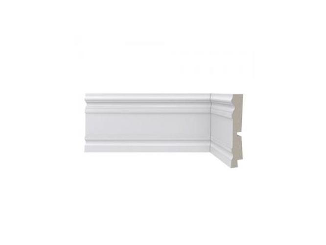 Rodapé Branco Santa Luzia - Linha Clássica, 9,6cm