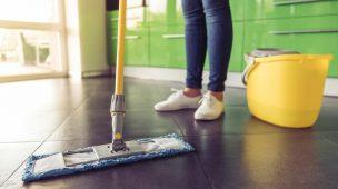 Limpeza do chão