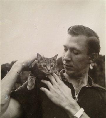 Hans Wegner jovem