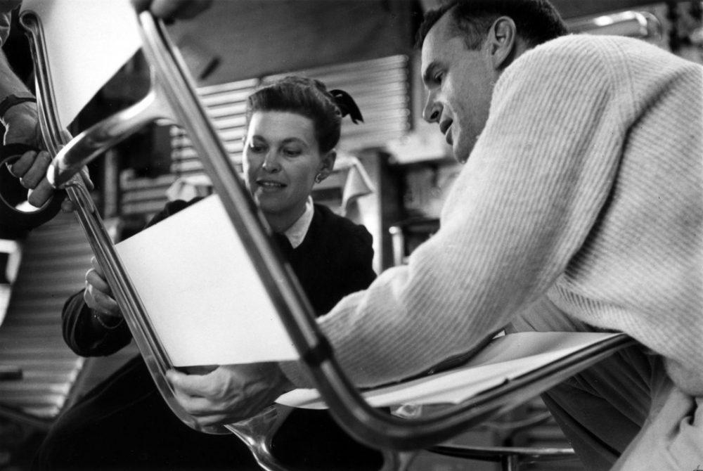 Charles e Ray Eames - Aluminum Group produção