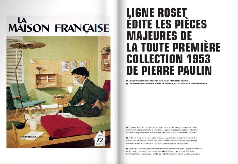 La Maison Française pierre paulin