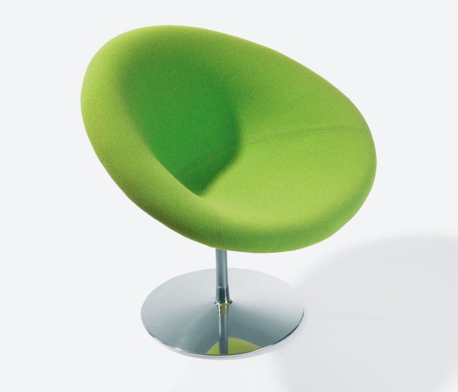 poltrona gondola pequena verde