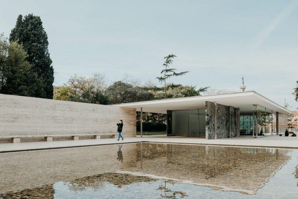 pavilhão barcelona arquitetura moderna