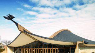 Ingalls Ice Arena arquitetura moderna