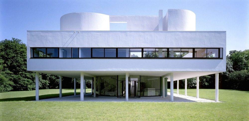 Villa Savoye arquitetura moderna
