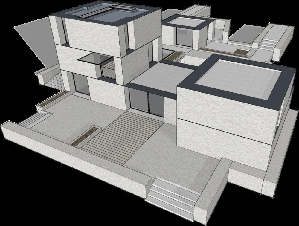 arquitetura sketchup