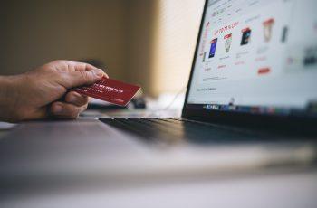 realizando compras online