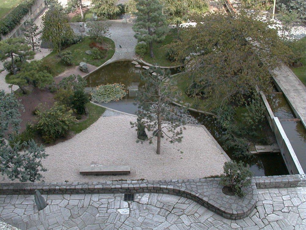 jardin japonais de Isamu Noguchi