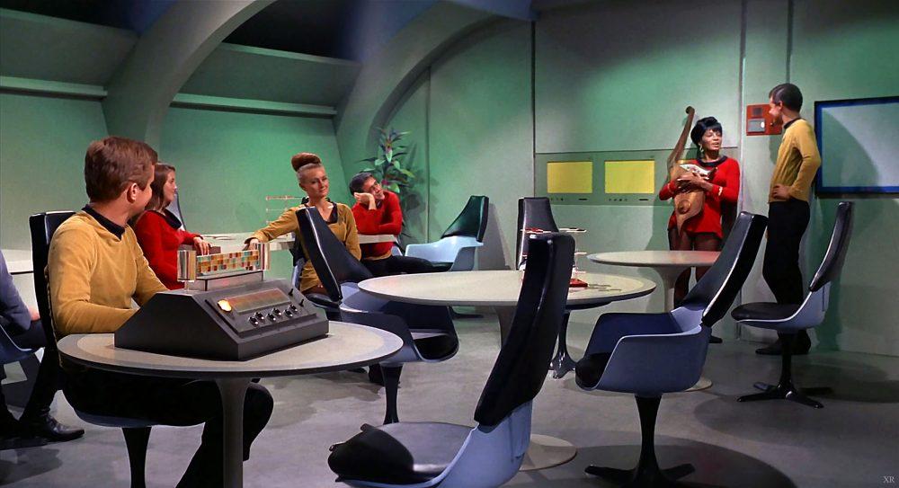 Artigo Series Star Trek Mesa Eames